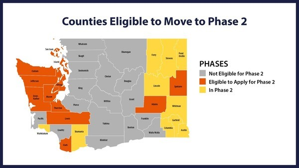5.19 Counties eligible to move to phase 2